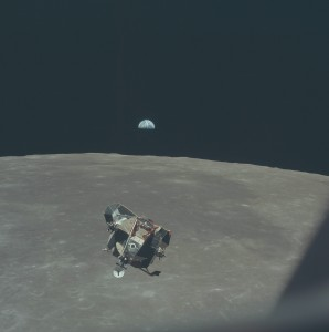 gpw-20061021-NASA-AS11-44-6642-half-illuminated-Earth-Apollo-11-Lunar-Module-ascends-from-Moon-surface-Apollo-XI-mission-July-21-1969-medium