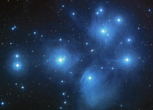 Pleiades as seen by the Hubble Space Telescope