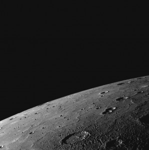 Mercury Northern Limb 3rd Flyby, September 2009